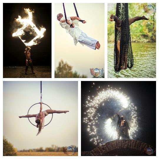 Pokazy z ogniem - niesamowite fireshow