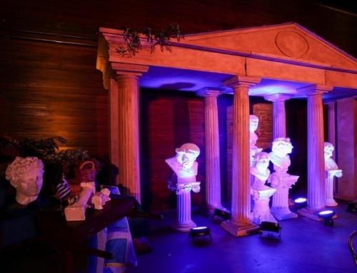 Impreza w stylu starożytnej Grecji – scenografia grecka