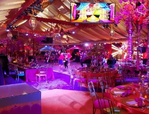 Impreza w stylu Bollywood