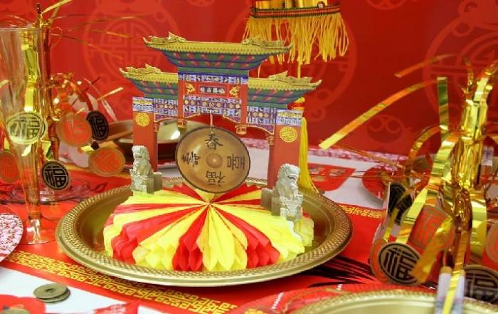 Impreza w stylu chińskim