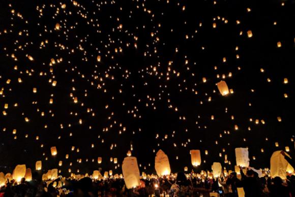 PODNIEBNE LAMPIONY