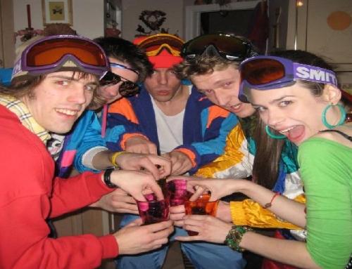 Impreza w stylu lat 80′