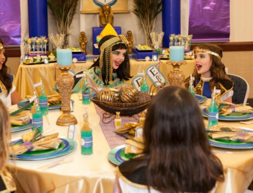 Impreza w stylu egipskim