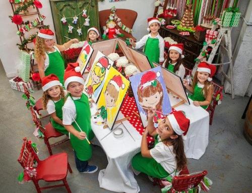 Świąteczna impreza u elfów