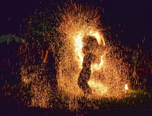 Niebanalne pokazy ognia fireshow