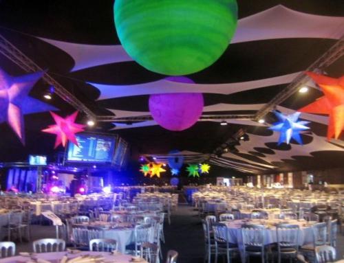 Impreza w stylu planetarnym