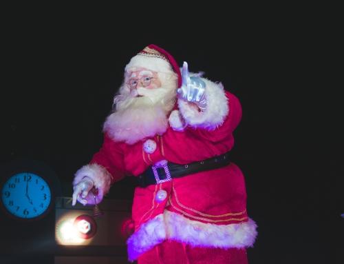 Święty Mikołaj na event