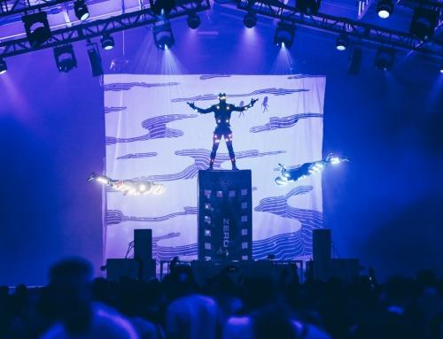 Pokaz widowiska akrobatycznego
