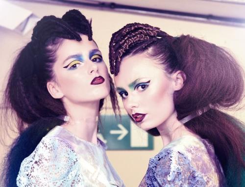 Modele i modelki na pokaz mody