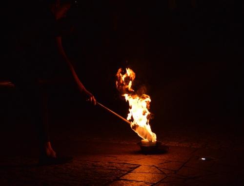 Bal karnawałowy z pokazem fireshow