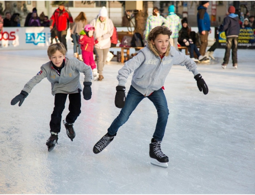 Integracja na lodzie czyli wyjazd na łyżwy
