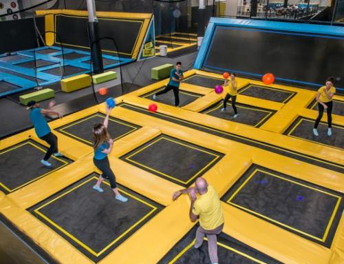 Park trampolin – doskonała zabawa