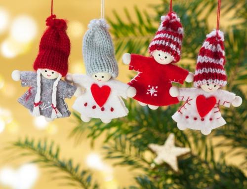 Dekoracje świąteczne w firmie