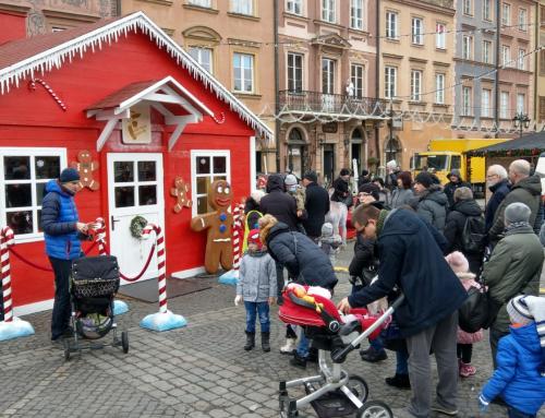 Wynajem chatki świętego Mikołaja – pełna scenografia