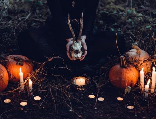 Scenografia na Hallowen