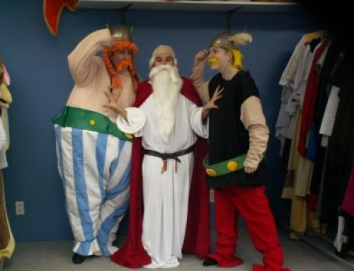 Impreza w stylu Asterix'a i Obelix'a