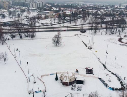 Stok narciarski w centrum miasta czyli niezapomniana integracja