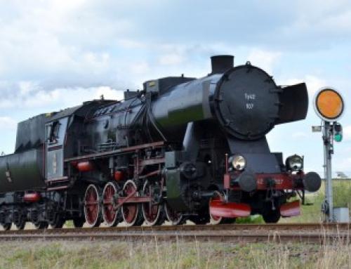Impreza integracyjna wśród lokomotyw, czyli wycieczka do Chabówki