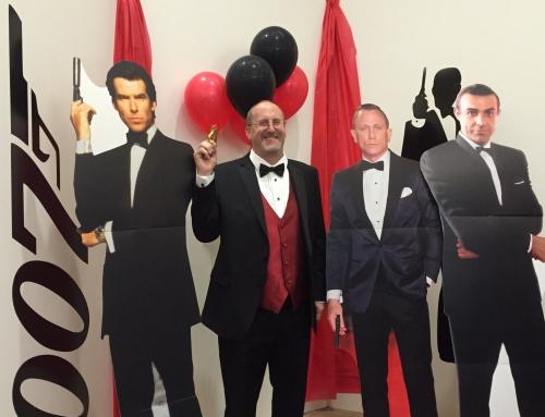Impreza w stylu Jamesa Bonda w Łodzi