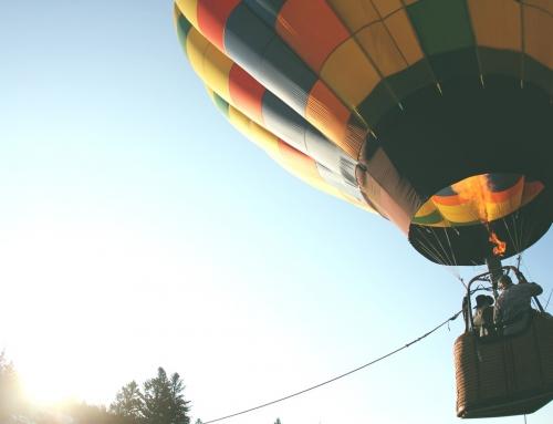 Impreza integracyjna z lotem widokowym balonem
