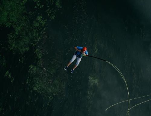 Event plenerowy i skok na bungee