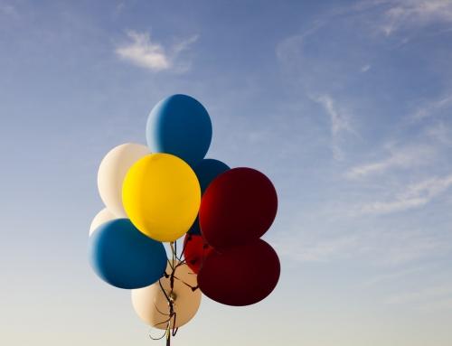 Balony na festynie w roli głównej