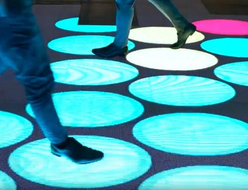 Interaktywna podłoga na scenie – co można z nią zrobić?