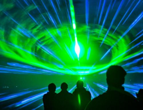 Laserowe animacje na eventach
