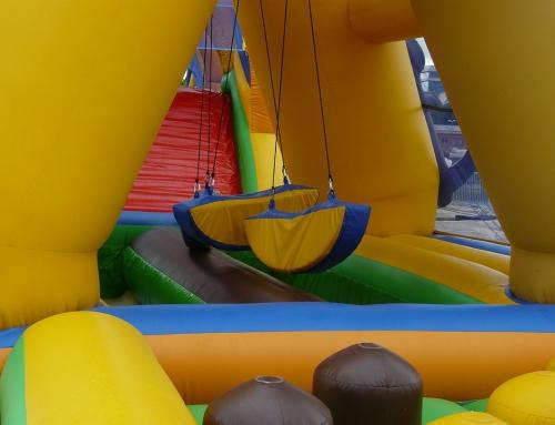 Dmuchańce idealną atrakcją eventową dla dzieci