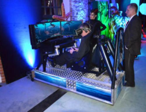 Symulator łodzi podwodnej