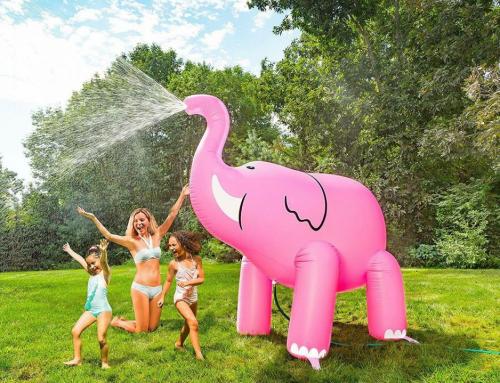 Dmuchany słoń – ciekawa atrakcja dla dzieci i dorosłych